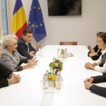 Premierul Viorica Dăncilă, discuții cu Ska Keller și Philippe Lamberts, co-președinții Grupului Verzilor/Alianța Europa Liberă din PE privind situația din România