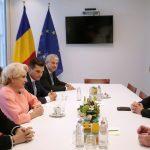Viorica Dăncilă, întrevedere cu liderul ALDE din PE, Guy Verhofstadt. Premierul a reiterat angajamentul Guvernului pentru respectarea valorilor europene