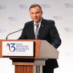 Preşedintele Poloniei, la Forumul de Afaceri din I3M: Succesul economiei nu poate fi gândit în afara spaţiului european