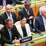 GALERIE FOTO Klaus Iohannis, la a treia sa participare la Adunarea Generală ONU de la New York pentru a promova candidatura României la Consiliul de Securitate