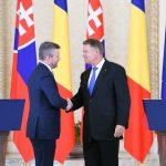 Președintele Klaus Iohannis, mesaj după întrevederea cu premierul Slovaciei, Peter Pellegrini: Euroscepticismul este în creștere, Brexit-ul bate la ușă și cred că trebuie să redăm europenilor sentimentul de siguranță
