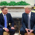 De la Summitul celor Trei Mări, președintele Poloniei a mers la Washington. Donald Trump ia în calcul stabilirea unei baze militare SUA în Polonia