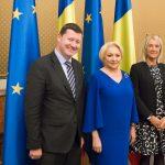 Prim-ministrul Viorica Dăncilă s-a întâlnit cu Martin Selmayr, secretarul general al Comisiei Europene și Clara Alberola, șef de Cabinet al președintelui CE, aflați în vizită în România