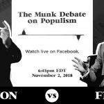 VIDEO. The Munk Debates| Steve Bannon și David Frum dezbat ascensiunea populismului